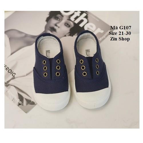 Giày Vải Thể Thao Cho Bé Trai, Bé Gái G107