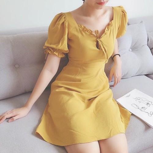 [ CHO XEM HÀNG ] Đầm xinh - Đầm cổ viền bèo Cute Dress - Freesize dưới 55kg - 11569311 , 17660071 , 15_17660071 , 259000 , -CHO-XEM-HANG-Dam-xinh-Dam-co-vien-beo-Cute-Dress-Freesize-duoi-55kg-15_17660071 , sendo.vn , [ CHO XEM HÀNG ] Đầm xinh - Đầm cổ viền bèo Cute Dress - Freesize dưới 55kg