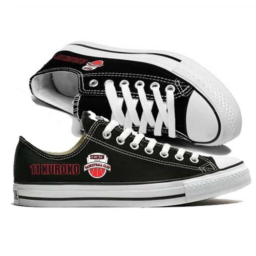 Giày thể thao Sneaker thấp cổ kuroko no basker