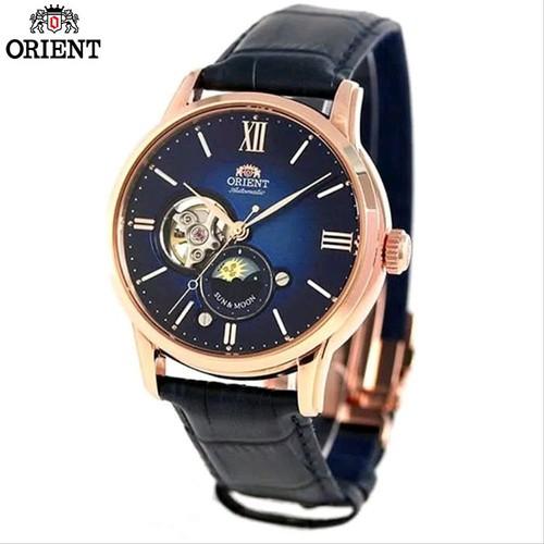 Đồng hồ ORIENT nam chính hãng Dây Da Xanh RA-AS0006L00B