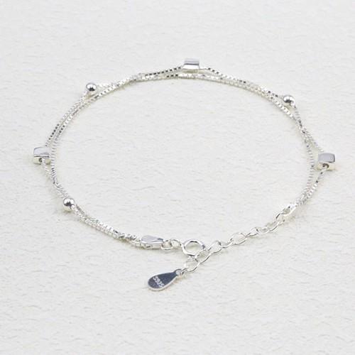 Lắc Tay Bạc Ý S925 Bảo Ngọc Jewelry Cao Cấp L-1772
