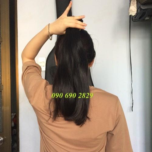 Tóc nối 40cm bằng tóc thật