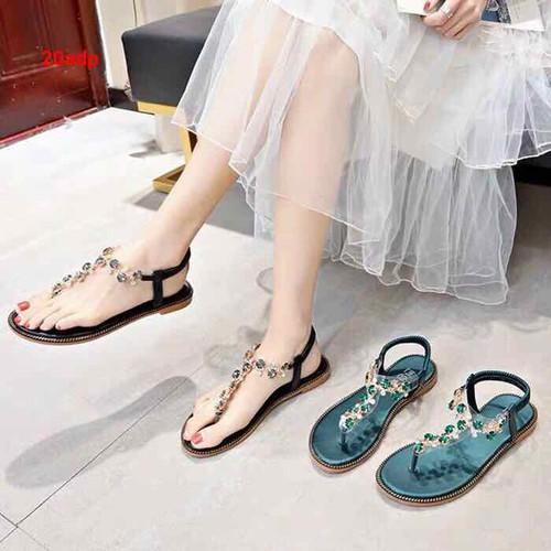giày sandal đính đá - 7932391 , 17583988 , 15_17583988 , 215000 , giay-sandal-dinh-da-15_17583988 , sendo.vn , giày sandal đính đá