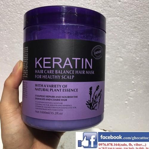 Hấp dầu ủ tóc keratin - 1000ml