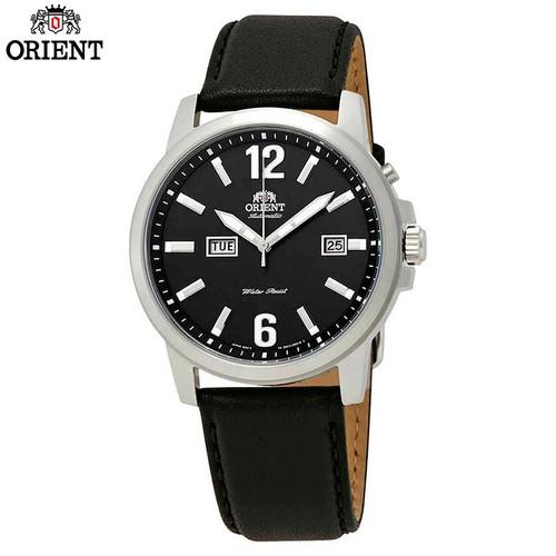 Đồng hồ ORIENT nam chính hãng Dây Da Đen FEM7J00BB9