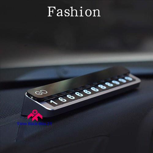 Bảng gắn số điện thoại trên taplo ô tô V5