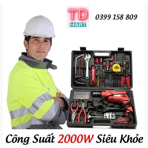 Bộ máy khoan đa năng công suất 2000W - Hàng trung ương