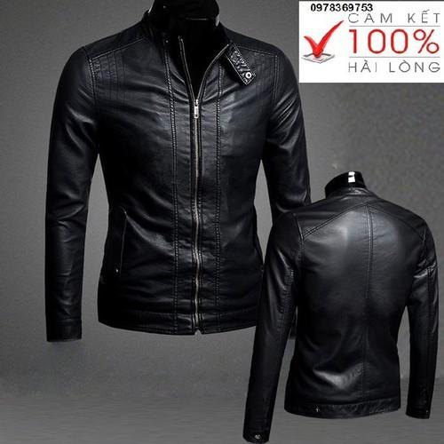 Áo Khoác Da Nam Black Leather Cao Cấp - 4702336 , 17586607 , 15_17586607 , 1698000 , Ao-Khoac-Da-Nam-Black-Leather-Cao-Cap-15_17586607 , sendo.vn , Áo Khoác Da Nam Black Leather Cao Cấp