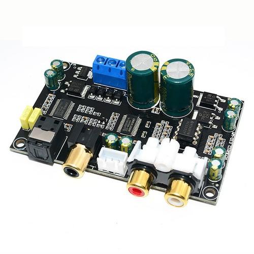 Denshitaro- mạch giải mã dac cáp đồng trục hifi 24bit 192khz độ chân thực cao dùng chip cs8416cs4398 d00-515