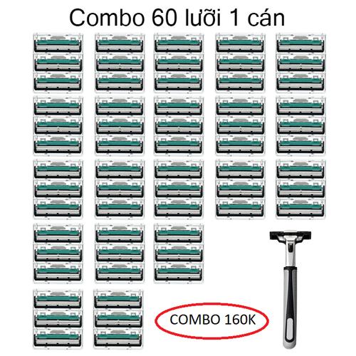 BỘ DAO CẠO RÂU-60 LƯỠI 1 CÁN - 7930089 , 17580061 , 15_17580061 , 260000 , BO-DAO-CAO-RAU-60-LUOI-1-CAN-15_17580061 , sendo.vn , BỘ DAO CẠO RÂU-60 LƯỠI 1 CÁN