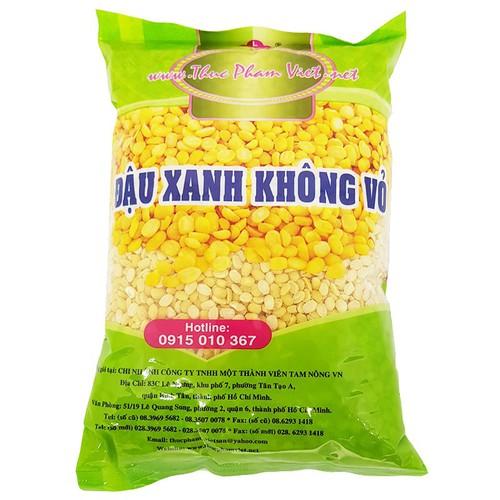 Đậu xanh không vỏ Việt San gói 500g
