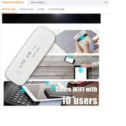 Usb Phát Sóng Wifi 4G Dongle Chất Lượng Siêu Tốt