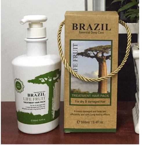 KEM KERATIN BRAZIL LIFE FRUIT PHỤC HỒI TÓC CHÍNH HÃNG 550ML