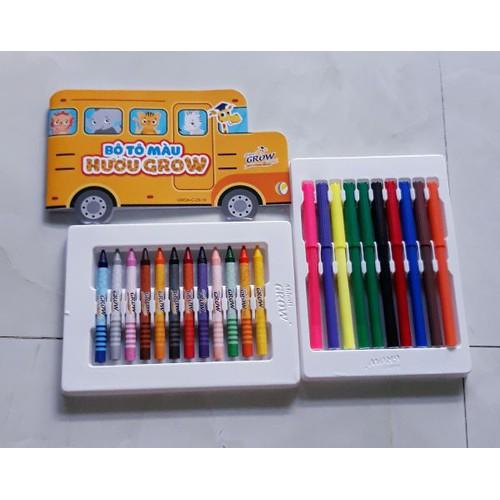 Hộp 12 cây bút sáp- 10 cây bút lông - 1 cuốn sách tập vẽ tô màu - 7936113 , 17590113 , 15_17590113 , 28000 , Hop-12-cay-but-sap-10-cay-but-long-1-cuon-sach-tap-ve-to-mau-15_17590113 , sendo.vn , Hộp 12 cây bút sáp- 10 cây bút lông - 1 cuốn sách tập vẽ tô màu