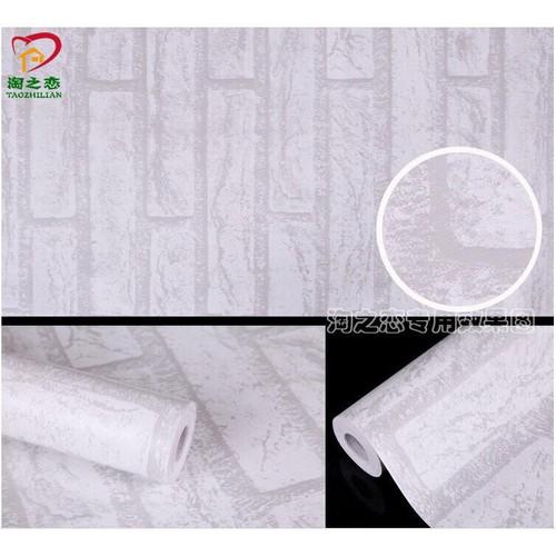 combo 10m decal giấy dán tường mẫu gạch xám khổ 45cm - 7682121 , 17586120 , 15_17586120 , 99000 , combo-10m-decal-giay-dan-tuong-mau-gach-xam-kho-45cm-15_17586120 , sendo.vn , combo 10m decal giấy dán tường mẫu gạch xám khổ 45cm