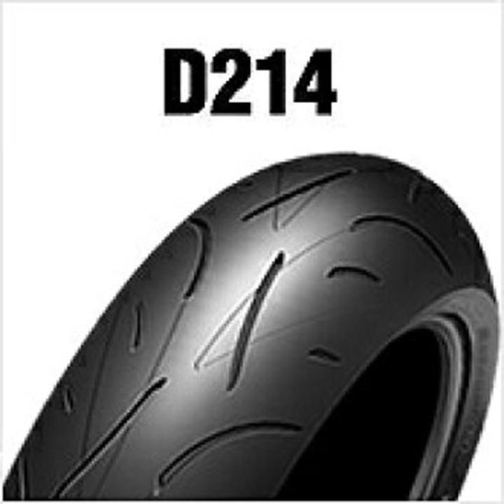 Lốp Dunlop 120.70-17 D214FW 58W Vỏ xe máy Dunlop size 120-70-17 D214FW 58W_ Dunlop Việt Nam, giá rẻ, uy tín 4