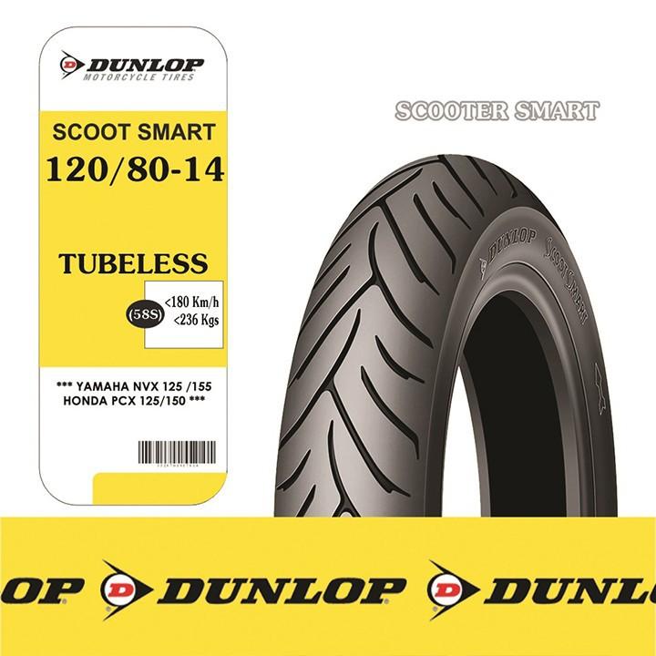 Lốp Dunlop 120.80-14 SC SMART TL 58S Vỏ xe máy Dunlop size 120.80-14 SC SMART TL 58S _ Dunlop Việt Nam, giá rẻ, uy tín 2