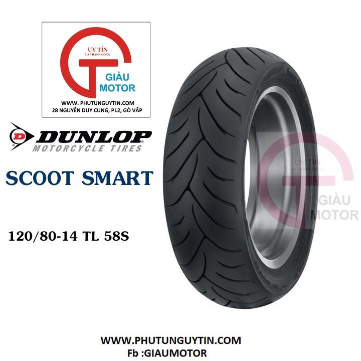 Lốp Dunlop 120.80-14 SC SMART TL 58S Vỏ xe máy Dunlop size 120.80-14 SC SMART TL 58S _ Dunlop Việt Nam, giá rẻ, uy tín 1