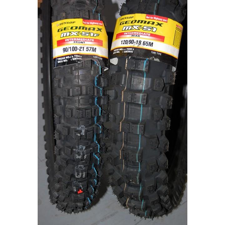 Lốp Dunlop 120.90-18 MX51 TT 65M  Vỏ xe máy Dunlop size 120.90-18 MX51 TT 65M_ Dunlop Việt Nam, giá rẻ, uy tín 6