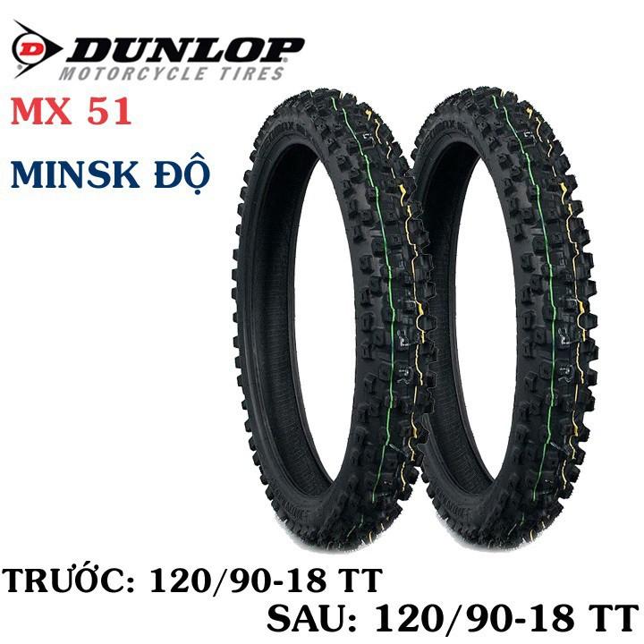 Lốp Dunlop 120.90-18 MX51 TT 65M  Vỏ xe máy Dunlop size 120.90-18 MX51 TT 65M_ Dunlop Việt Nam, giá rẻ, uy tín 5