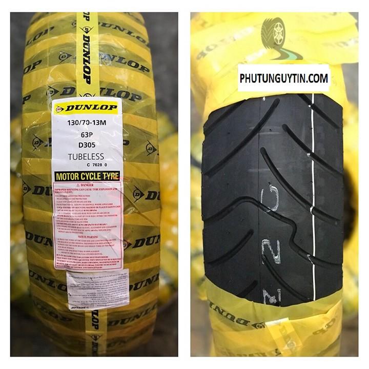 Lốp Dunlop 130.70-13 D305 TL 63P Vỏ xe máy Dunlop size Dunlop 130.70-13 D305 TL 63P_ Dunlop Việt Nam, giá rẻ, uy tín 2