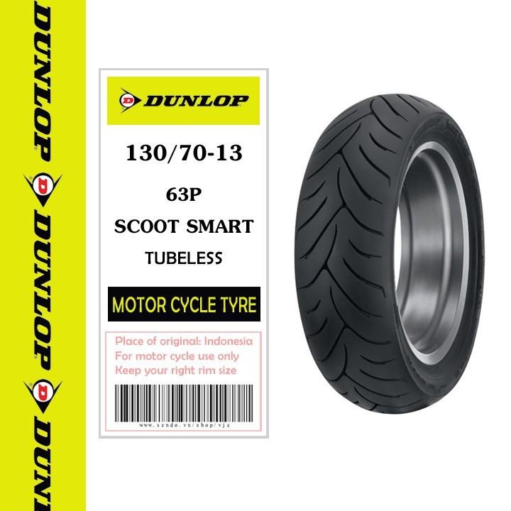 Lốp Dunlop 130.70-13 SC SMART TL 63P Vỏ xe máy Dunlop size 130.70-13 SC SMART TL 63P _ Dunlop Việt Nam, giá rẻ, uy tín 1