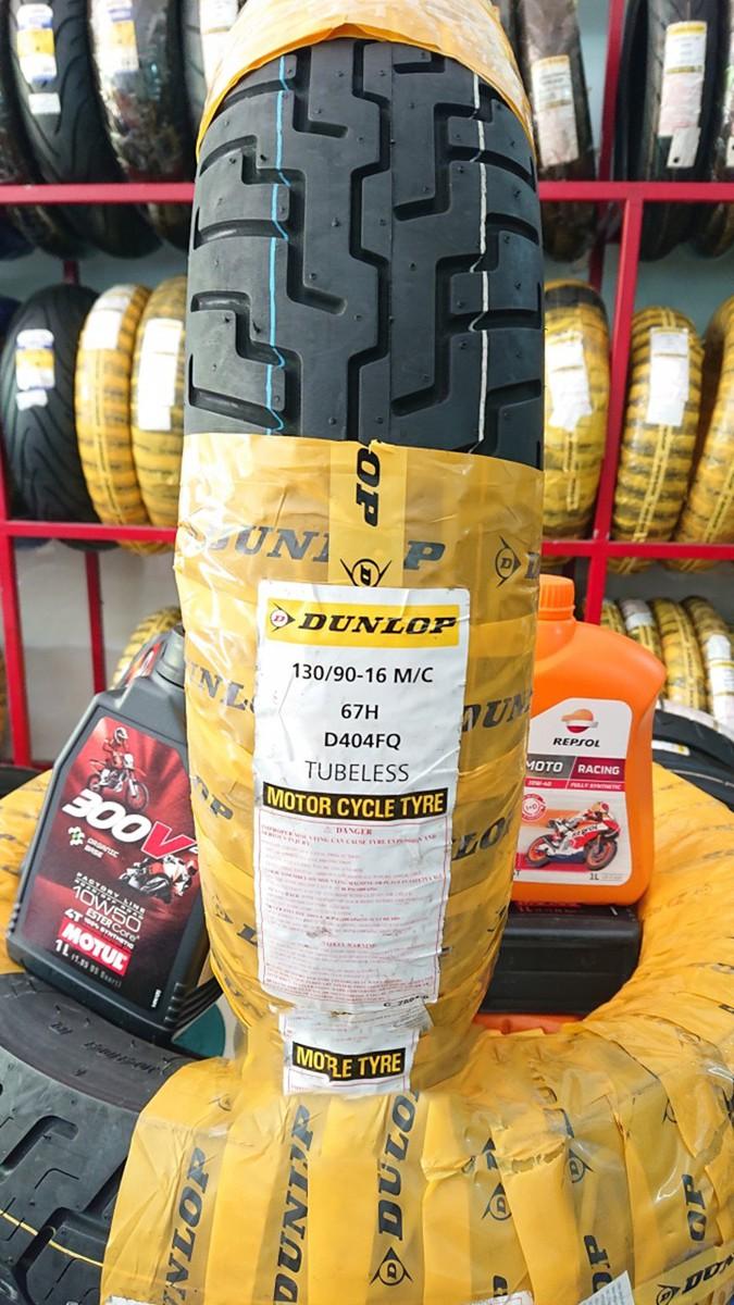 Lốp Dunlop 130.90-16 D404 TL 67H  Vỏ xe máy Dunlop size 130.90-16 D404 TL 67H  _ Dunlop Việt Nam, giá rẻ, uy tín 5