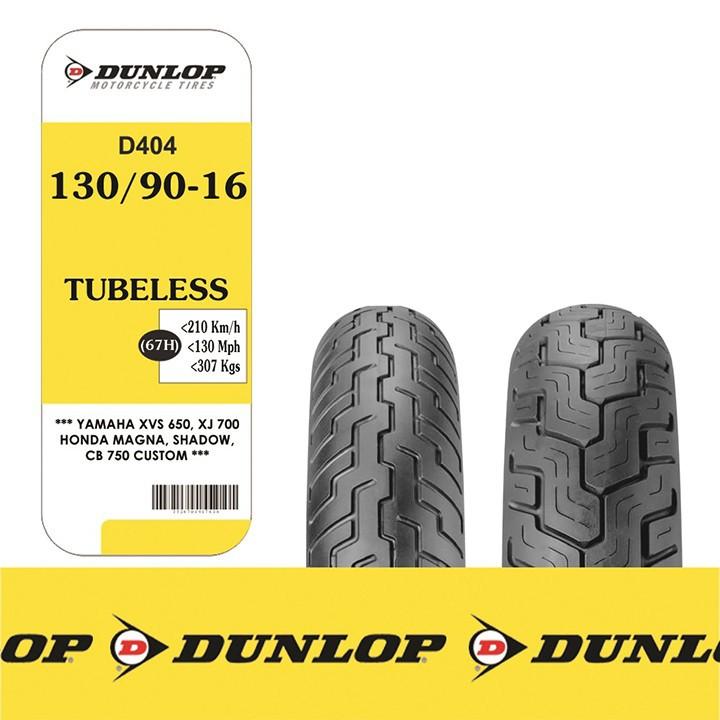Lốp Dunlop 130.90-16 D404 TL 67H  Vỏ xe máy Dunlop size 130.90-16 D404 TL 67H  _ Dunlop Việt Nam, giá rẻ, uy tín 2