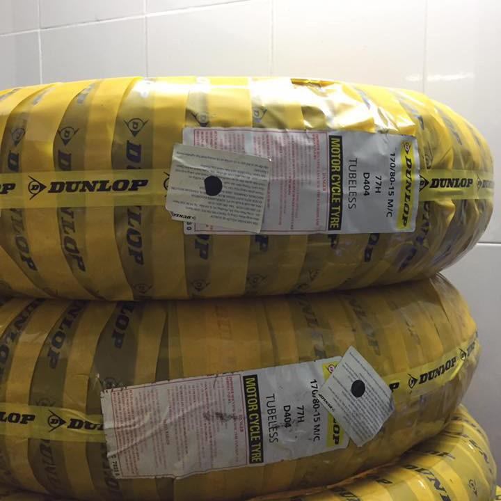 Lốp Dunlop 170.80-15 D404 TL 77H  Vỏ xe máy Dunlop size 170.80-15 D404 TL 77H  _ Dunlop Việt Nam, giá rẻ, uy tín 4