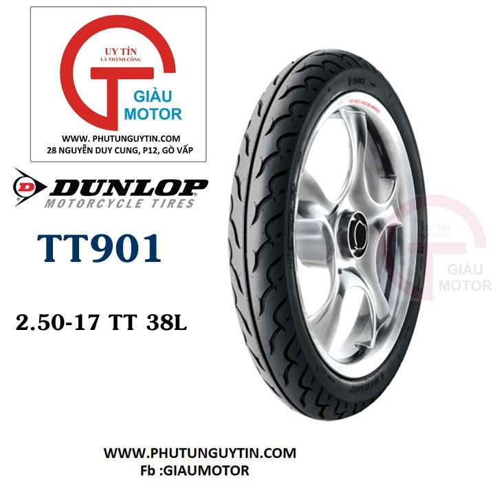 Lốp Dunlop 2.50-17 TT901 TT 38L  Vỏ xe máy Dunlop size 2.50-17 TT901 TT 38L _ Dunlop Việt Nam, giá rẻ, uy tín 1