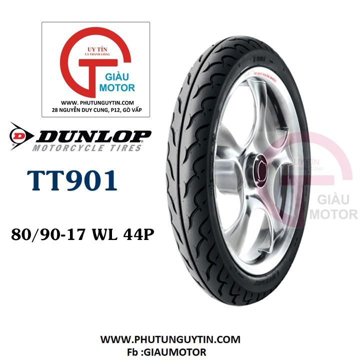 Lốp Dunlop 80.90-17 TT901 TL 44P  Vỏ xe máy Dunlop size 80.90-17 TT901 TL 44P_ Dunlop Việt Nam, giá rẻ, uy tín 1