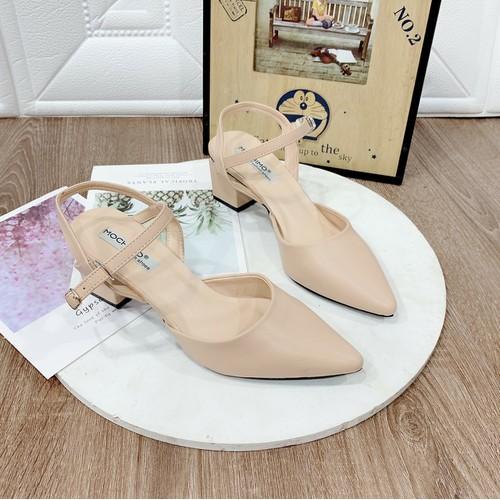 Giày sandal cao gót bít mũi sang chảnh Q - 7682236 , 17586250 , 15_17586250 , 310000 , Giay-sandal-cao-got-bit-mui-sang-chanh-Q-15_17586250 , sendo.vn , Giày sandal cao gót bít mũi sang chảnh Q