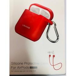 Túi bảo vệ bằng silicon USAMS cho phụ kiện tai nghe Airpod 3 in 1