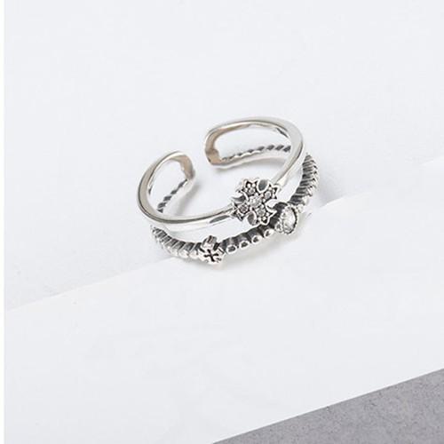 Nhẫn Bạc Thái S925 Bảo Ngọc Jewelry Nữ Cao Cấp N-1697