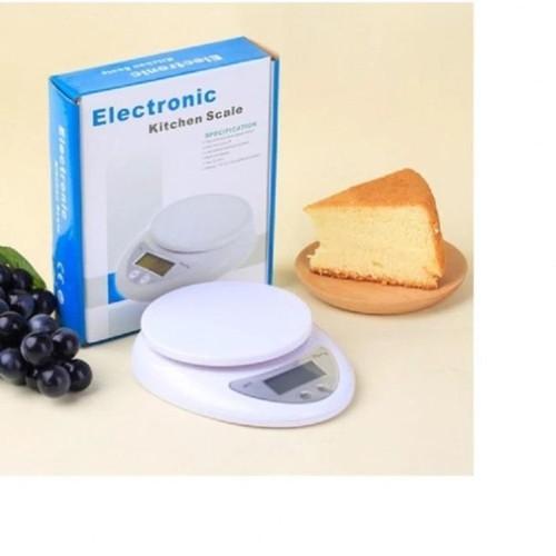 Cân Điện Tử Nhà Bếp Mini Electronic Kitchen Scale 5KG Kèm Pin