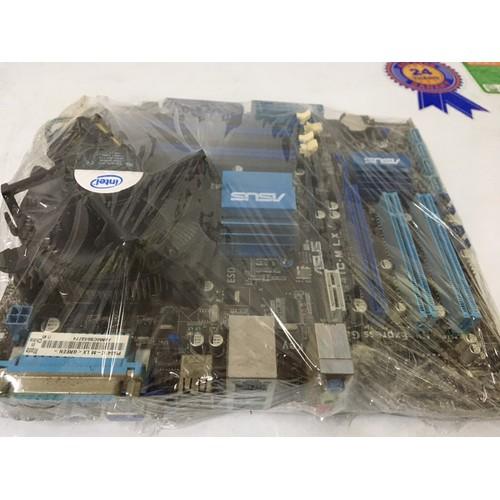 Combo main Asus G41 DDRIII socket 775 + 2Gb + E5300 + Quạt