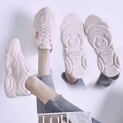 Giày sneaker gấu MOS.chi.no |Giày thể thao nữ