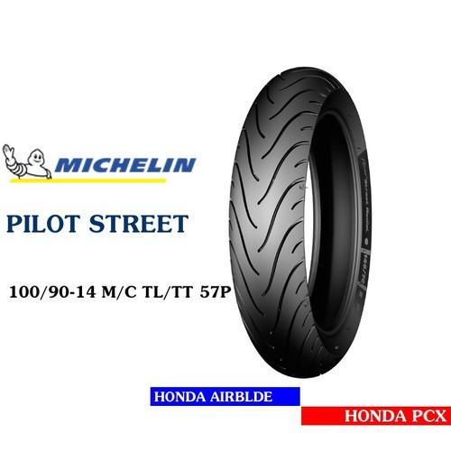 Lốp MICHELIN 100.90-14 PILOT STREET MC TL 57P   Vỏ xe máy MICHELIN size 100.90-14 PILOT STREET MC TL 57P  Việt Nam, giá rẻ, uy tín