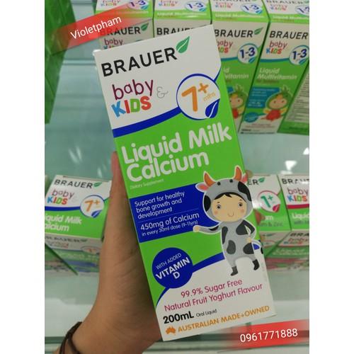 Bổ sung Canxi sữa Brauer cho bé từ 7 tháng tuổi 200ml - 7945641 , 17606023 , 15_17606023 , 451000 , Bo-sung-Canxi-sua-Brauer-cho-be-tu-7-thang-tuoi-200ml-15_17606023 , sendo.vn , Bổ sung Canxi sữa Brauer cho bé từ 7 tháng tuổi 200ml