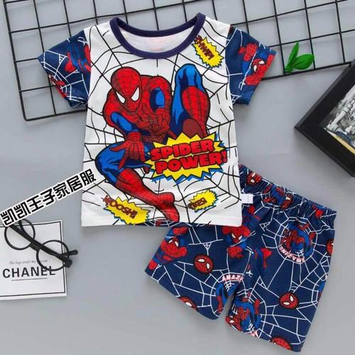 Đồ bộ cho bé trai mẫu siêu nhân nhện xanh - 4704969 , 17602086 , 15_17602086 , 89000 , Do-bo-cho-be-trai-mau-sieu-nhan-nhen-xanh-15_17602086 , sendo.vn , Đồ bộ cho bé trai mẫu siêu nhân nhện xanh