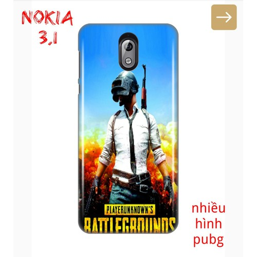 Ốp Lưng Nokia 3.1 Hình Game Sinh Tồn PUBG - 7684558 , 17609836 , 15_17609836 , 55000 , Op-Lung-Nokia-3.1-Hinh-Game-Sinh-Ton-PUBG-15_17609836 , sendo.vn , Ốp Lưng Nokia 3.1 Hình Game Sinh Tồn PUBG