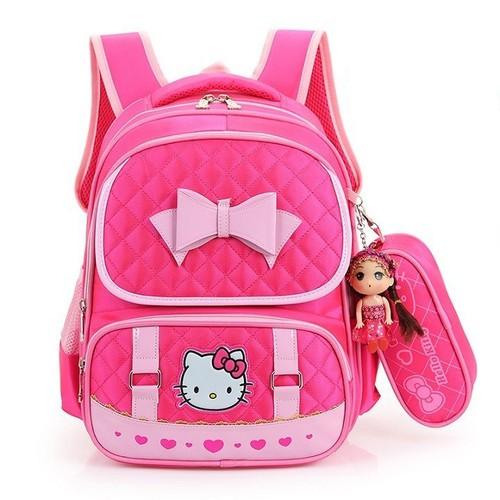 Balo cho bé gái đi học