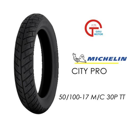 Lốp MICHELIN 50.100-17 CITY PRO MC TT 30P Vỏ xe máy MICHELIN size 50.100-17 CITY PRO MC TT 30P Việt Nam, giá rẻ, uy tín