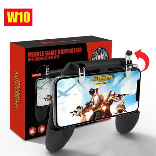 Tay Cầm Game PUBG W10 Cho Điện Thoại Pubg, Ros, Free Fire Controller