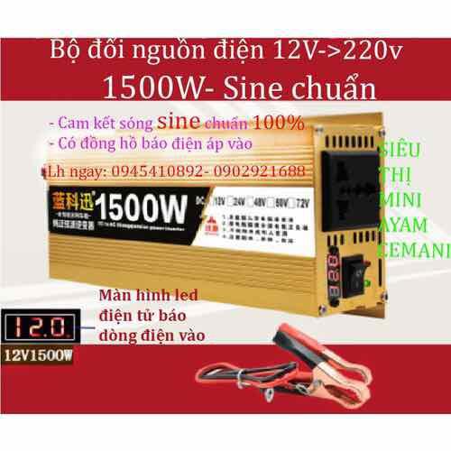 Bộ kích điện inverter sin chuẩn 12V-220V - 7945423 , 17605531 , 15_17605531 , 1300000 , Bo-kich-dien-inverter-sin-chuan-12V-220V-15_17605531 , sendo.vn , Bộ kích điện inverter sin chuẩn 12V-220V