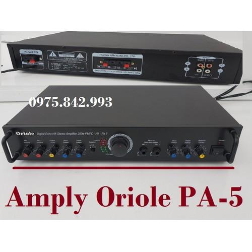 Amply karaoke Oriole HA-PA5-amply gia đình hát karaoke