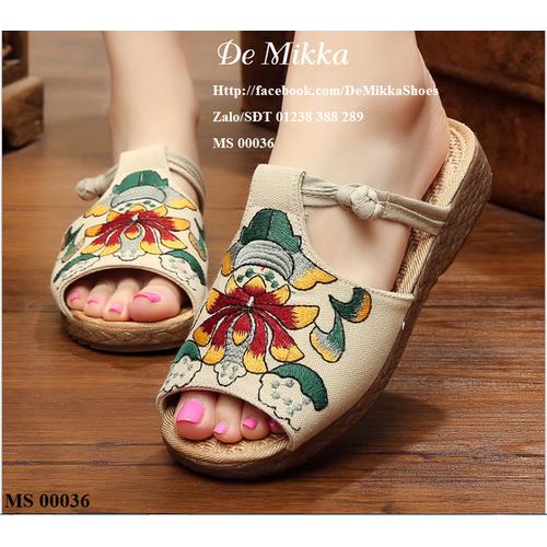 giày nữ và túi cói