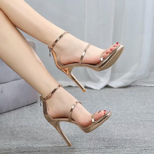 Giày sandal cao gót nữ  đế nhọn 8P - 7945343 , 17605442 , 15_17605442 , 520000 , Giay-sandal-cao-got-nu-de-nhon-8P-15_17605442 , sendo.vn , Giày sandal cao gót nữ  đế nhọn 8P
