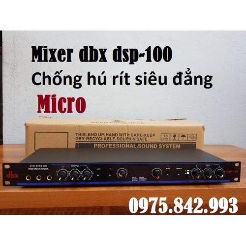 Vang cơ dbx 100-có vỉ chống hú rít siêu đẳng-hàng loại 1