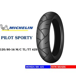 Pilot sporty 120/80-16 TL/TT